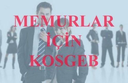 Devlet Memurları KOSGEB'den Nasıl Faydalanır? (İşte Yanıt)