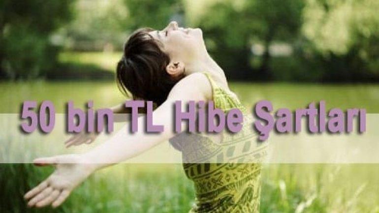 50 Bin TL Hibe Şartları Nedir ? Kimler Nasıl Başvurabilir ?