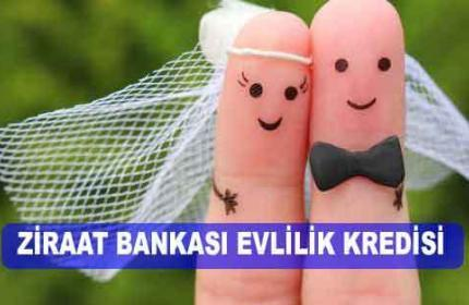 Ziraat Bankası Evlilik Kredisi (Yeni EVLENENLERE 2021 Kampanyası)