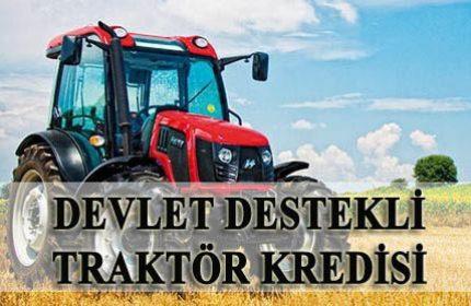 Devlet Hibe Destekli Traktör Kredisi (En Az Yüzde 70 Destek)