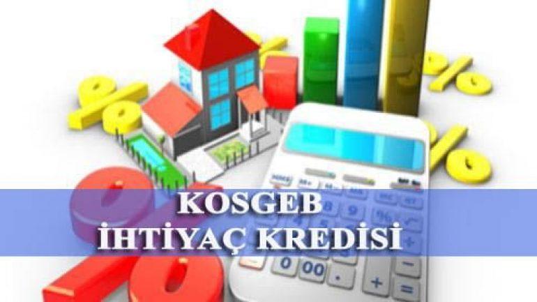 KOSGEB ihtiyaç kredisi nasıl alınır, şartları gerekli evraklar