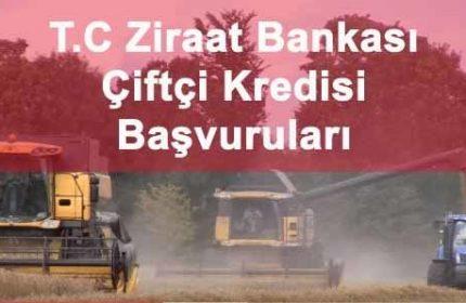 Ziraat Bankası Çiftçi Kredisi 3 Kat Daha Avantajlı (Tarımsal)