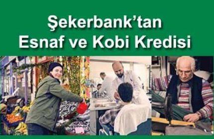 Şekerbank KOBİ Kredisi Başvurusu (Esnaflar İçin Faiz Hesaplama)
