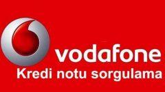 Vodafone Kredi Notu Sorgulama Nasıl Yapılır? Nereye SMS gönderilir?