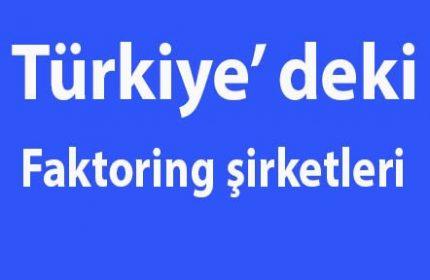Türkiye'deki Faktoring Şirketleri Hangileridir? BDDK lisanslı
