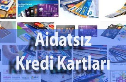 3 Bankaya Ait Aidatsız Kredi Kartları Hangileridir? (2021 Birincisi)