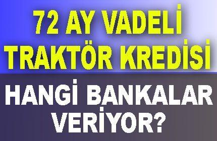 0 2.El Hangi Bankalar Traktör Kredisi Veriyor? Faiz Oranları Ne Kadar?