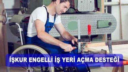 2021 İŞKUR Engelli Girişimci Hibe 65 Bin TL Oldu