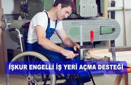 2020 İŞKUR Engelli Girişimci Hibe 65 Bin TL Oldu