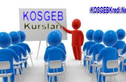 KOSGEB Girişimcilik Kursları 2019 Başvuru Formu