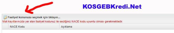 NACE Kodunun Bulunması