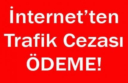 İnternet'ten trafik cezası ödeme NOKTASI!