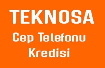 12 Taksitli TENOSA ING Kredi Başvuruları (Peşin Fiyatına Cep Telefonu)