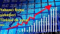 Yabancı forex şirketleri Türkiye'de yasal mı?