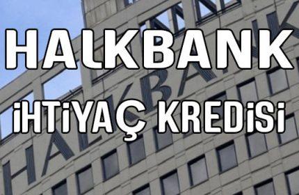 Halkbank 50.000 TL İhtiyaç Kredisi 5 Paket Halinde Veriliyor