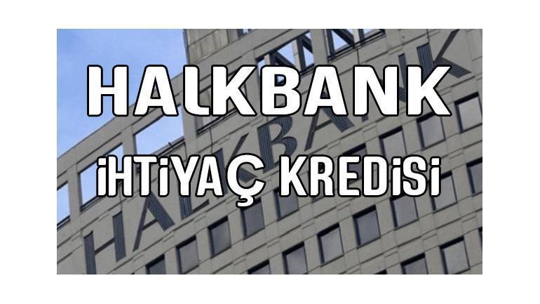 Halkbank 50.000 TL ihtiyaç kredisi 5 paket halinde veriyor