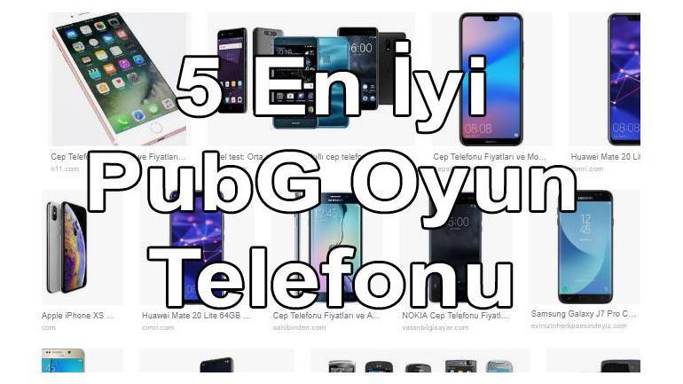 5 Mobil PUBG Uyumlu Destekleyen Kaldıran Telefonlar