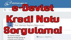 e-Devlet Kredi Risk Raporu Sorgulama (VİDEOLU ANLATIM)
