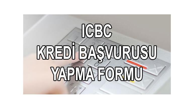 ICBC Bankası kredi başvurusu SMS üzerinden yapma