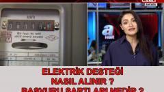 93 80 TL Elektrik Faturası Yardımı Devletten Nasıl Alınır?
