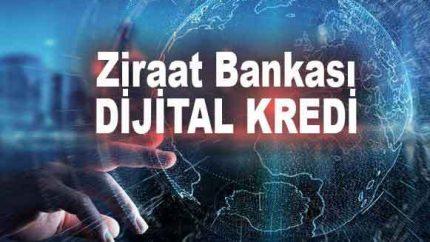 Ziraat Bankası Dijital Kredisi Nasıl Alınır? Hesaplama Faiz Oranları