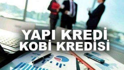 Yapı Kredi 10 Paketle KOBİ Kredisi Vermektedir!