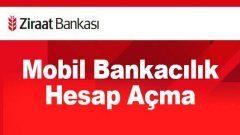 Ziraat Mobil İnternet Bankacılık Hesabı Nasıl Açılır?