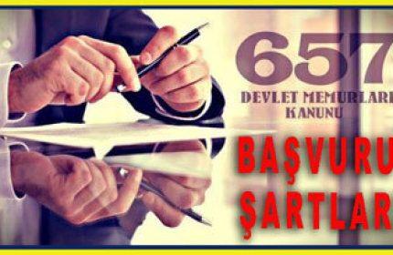 657 Tabi Devlet Memuru Nasıl Olunur? Başvuru Şartları Nelerdir?