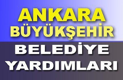 Ankara Büyükşehir Belediyesi Yardım Sorgulama Telefon Numarası